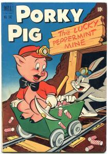 Porky Pig The Lucky Peppermint Mine- Four Color Comics #342 1951 FN