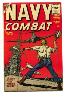 Navy Combat #2 1955-Atlas-Joe Maneely cover-VG/FN