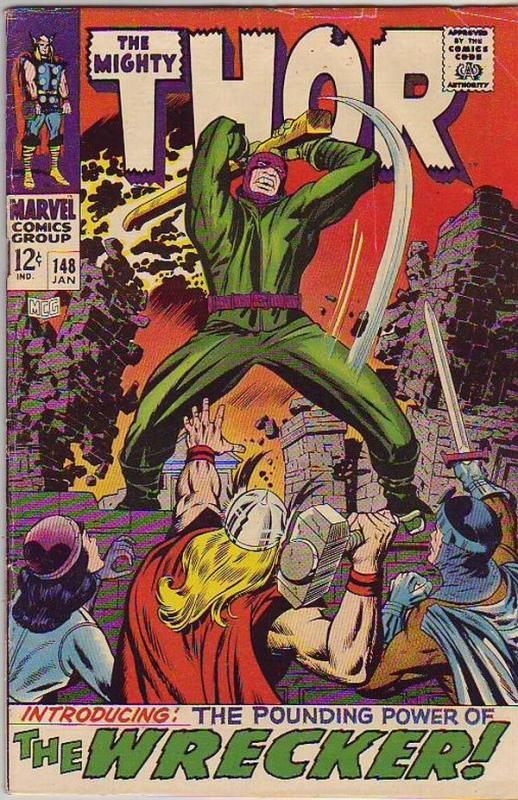 Thor, the Mighty #148 (Jan-68) VG/FN+ Mid-Grade Thor