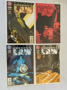 Batman Gordon's Law set #1-4 6.0 FN (1996)
