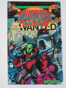 Pirate Corp$! #1 (Eternity 1992) Signed by Evan Dorkin (Earliest Known Work)