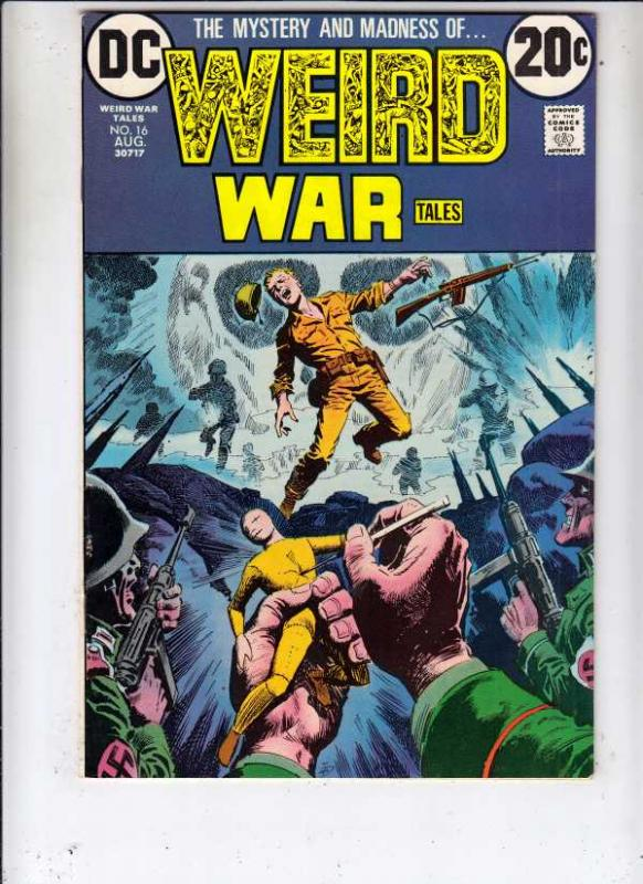 Weird War Tales #16 (Aug-73) FN/VF Mid-High-Grade