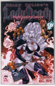 LADY DEATH : ABANDON All HOPE #2, NM+, Platinum, Variant, more LD in store