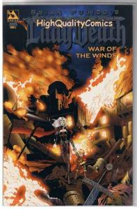 LADY DEATH : WAR of the WIND #5, NM+, Platinum, Variant, more LD in store
