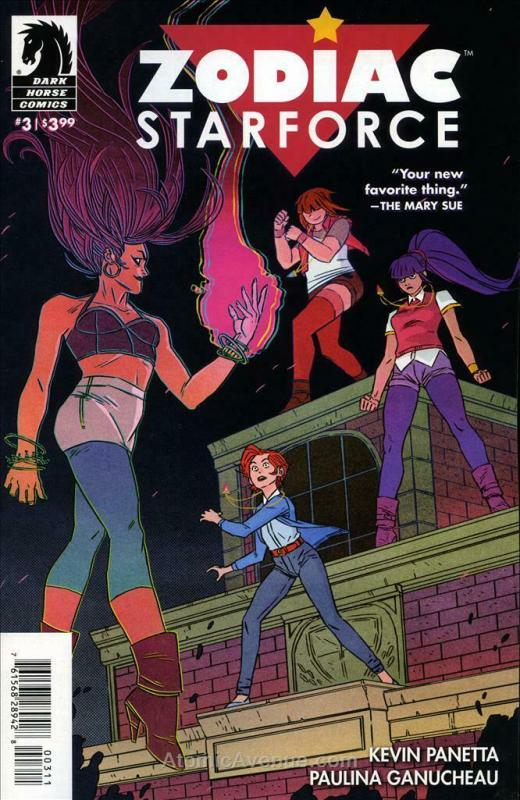 Zodiac Starforce #3 VF/NM; Dark Horse | save on shipping - details inside