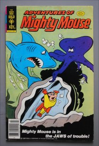 Adventures of Mighty Mouse 168(1955 Pines/Dell    F/Better    See Actual Photo