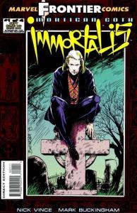 Mortigan Goth: Immortalis #1, NM (Stock photo)