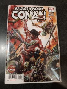 Savage Sword Of Conan #1 Garney Alex Ross Variant A Barbarian 1st Print NMM 2019