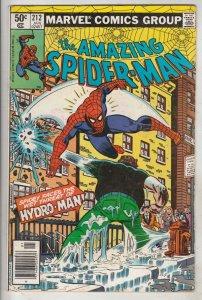 Amazing Spider-Man #212 (Jan-81) NM- High-Grade Spider-Man