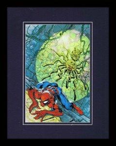 Amazing Spiderman #32 Marvel 11x14 Framed Poster Display J Scott Campbell