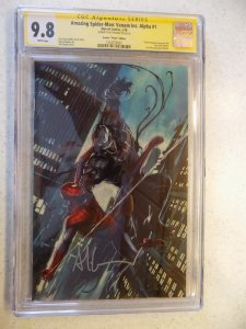 AMAZING SPIDER-MAN : VENOM INC. ALPHA # 1 MARVEL CGC 9.8 SIGNED ADI GRANOV MOVIE