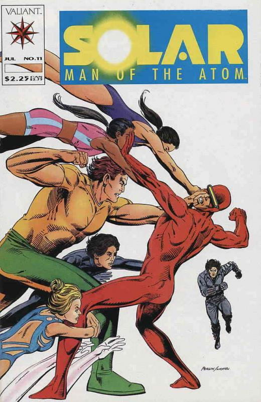 Solar, Man of the Atom #11 VF/NM; Valiant | save on shipping - details inside