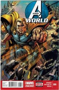 Avengers World #6 Neal Adams  Hyperion NM
