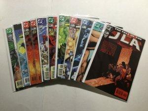 JLA Justice League Of America 11 Issue Lot Run Set Near Mint Nm Dc Comics