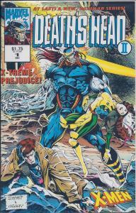 DEATH'S HEAD II # 1 DEC 1992 GUEST STARRING X-MEN