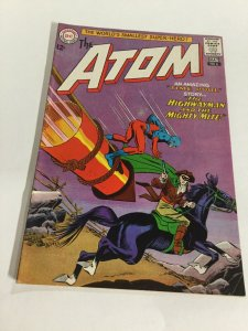 The Atom 6 Fn Fine 6.0 DC Comics Silver Age