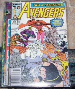 Avengers # 312  Dec 1989, Marvel  acts of vengence freedom force xmen