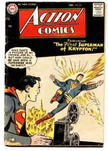 ACTION COMICS #223 comic book 1953 Jor-El Krypton DC