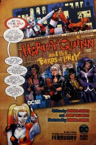 Harley Quinn And The Birds Of Prey Folded Promo Poster (24x36) New! [FP59]