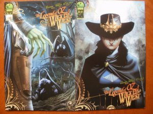 2 Big Dog Ink (BDI) Comic: THE LEGEND OF OZ THE WICKED WEST #13 #15 (Frank Baum)