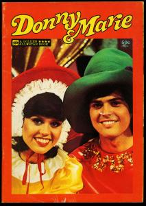 Donny and Marie #6424 1977- Photo cover- VG
