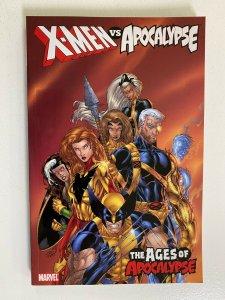 X-Men vs. Apocalypse TPB #2 SC 8.0 VF price tag on rear (2008)