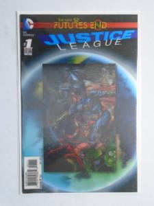 Justice League: Futures End #1A (DC), (2014) 3-D Lenticular Cover Edition