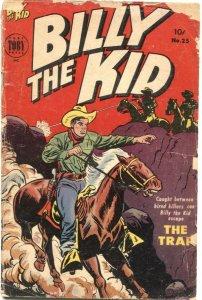 BILLY THE KID ADVENTURE #25-1954-TERROR OF THE EVERGLADES-SEMINOLES