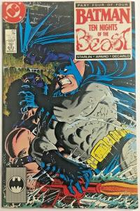 BATMAN#420 FN/VF 1988 'TEN NIGHTS OF THE BEAST' DC COMICS