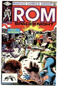 Rom #31-marvel 1982-Second appearance of ROUGE-1st cover!