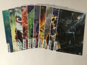 Justice League 1-30 Drowned Earth Tie-ins Variant Lot Nm Near Mint Dc Comics