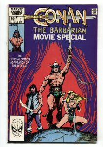 CONAN THE BARBARIAN MOVIE SPECIAL #1-1982-comic book NM-
