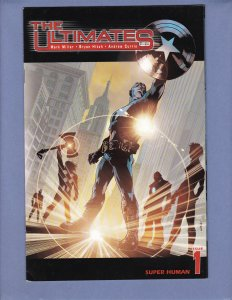 The Ultimates #1 FN/VF 1st Appearance Ultimate Captain America Marvel 2002