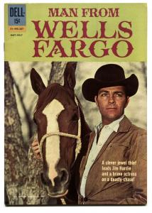 MAN FROM WELLS FARGO #01-495-207 1962-DELL-DALE ROBERTSON-vf/nm