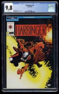 Harbinger #8 CGC NM/M 9.8 White Pages
