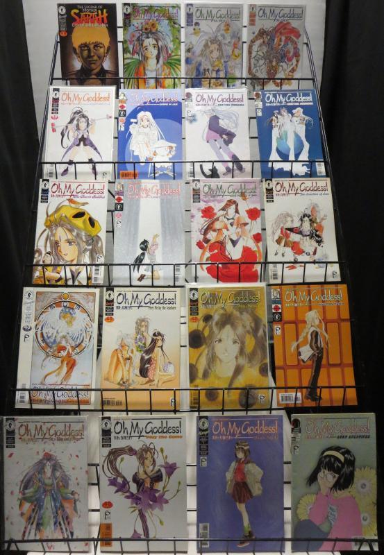 DARK HORSE MANGA HUGE COLLECTION OF 140 BOOKS!! 1990s-2000s F/+ Blade Kidd Cats