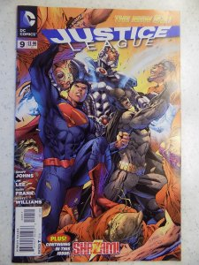 JUSTICE LEAGUE NEW 52 # 9