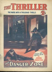 THRILLER SEPT 19 1931-DANGER ZONE BY HUNTER-UK DIME NOV FR