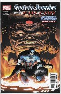 Captain America and the Falcon (vol. 1, 2004) # 8 VF Priest/Divito, MODOK