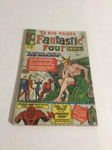 Fantastic Four Annual 1 Gd/Vg Good/Very Good 3.0 Tape On Spine Marvel Silver Age