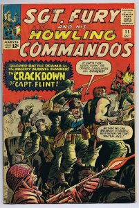 Sgt Fury and His Howling Commandos #11 ORIGINAL Vintage 1964 Marvel Comic Book