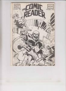 Comic Reader #136 FN illustration pre-dates ms. marvel #1 - captain britain