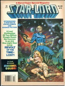 MARVEL SUPER SPECIAL #10 - Star Lord Guardians of Galaxy, VF-, Magazine, 1977