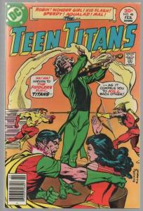 TEEN TITANS (1966) 46 FN+  Feb. 1977 JOKERS DAUGHTER B