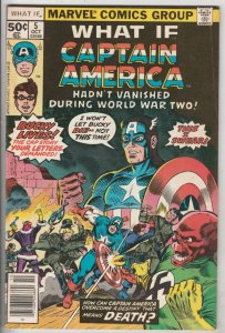 What If #5 (Oct-77) VF/NM High-Grade Captain America, Bucky Barnes