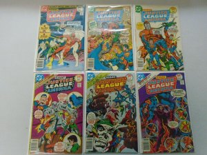 Giant Size Justice League lot 18 different from #139-157 avg 6.0 FN (1977-78)