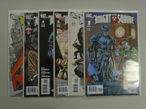 Knight and Squire set #1-6 8.0 VF (2010)