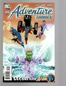 12 Adventure Comic 519 521 522 523 524 Titans 15 16 19 20 21 J. Society 1 1 J438