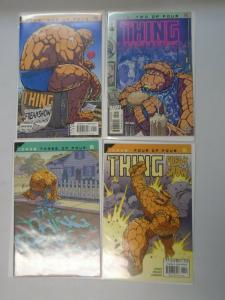 The Thing Freakshow set #1-4 8.0 VF (2002)