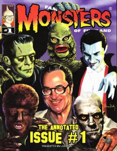 FAMOUS MONSTERS THE ANNOTATED ISSUE #1 & IMAGI MOVIES ISSUE 1